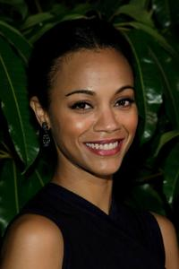 Zoe Saldana at the Children's Defense Fund 19th Annual Los Angeles Beat the Odds Awards Dinner.