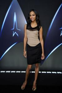Zoe Saldana at the Paramount Home Entertainment's