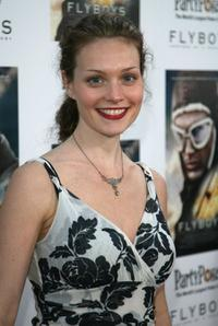 Lisa Brenner at the screening of
