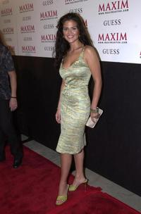Susan Ward at the Maxim Hotel Party.