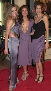 Lori Heuring, Susan Ward and Erinn Bartlett at the premiere of