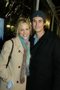 Oliver Hudson and Erinn Bartlett at the premiere of