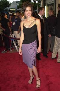 Erinn Bartlett at the premiere of