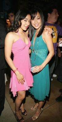 Aimee Garcia and Nicole Bilderback at the screening of