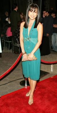 Nicole Bilderback at the screening of