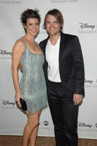 Zoe McLellan and Seth Gabel at the Disney and ABC's TCA - All Star party.