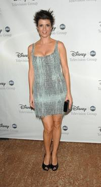 Zoe McLellan at the Disney and ABC's TCA - All Star party.