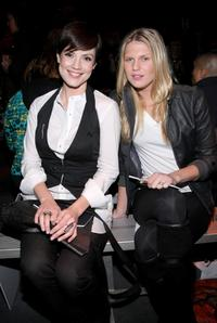 Zoe McLellan and Alexandra Richards at the G Star Fall 2009 Fashion Show during the Mercedes-Benz Fashion Week.