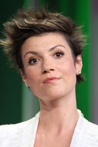 Zoe McLellan at the ABC portion of Television Critics Association Press Tour.