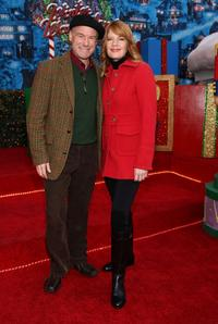 Jim Meskimen and Michelle Stafford at the 76th Annual Hollywood Santa Parade.