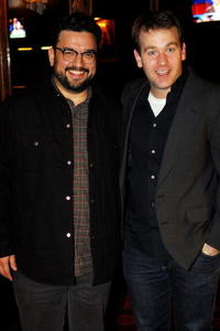 Horatio Sanz and Mike Birbiglia at the opening night celebration of