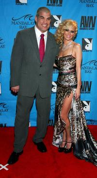 Tito Ortiz and Jenna Jameson at the 25th Annual Adult Video News Awards Show.