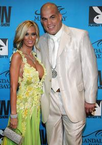 Jenna Jameson and Tito Ortiz at the 24th Annual Adult Video News Awards Show.