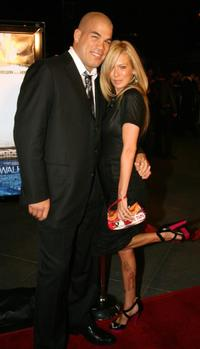 Tito Ortiz and Jenna Jameson at the premiere of