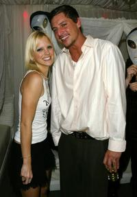 Anna Faris and Simon Rex at the European premiere of