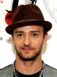 Justin Timberlake at the closing night of FutureSex/LoveShow World Tour.