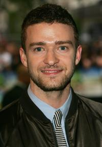 Justin Timberlake at the UK premiere of
