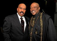 Steve Harvey and Lou Gossett Jr. at the 9th Annual BET Celebration of Gospel.