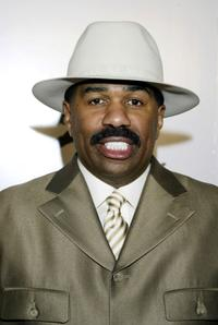 Steve Harvey at the