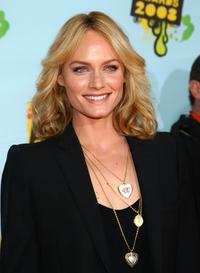 Amber Valletta at the Nickelodeon's 2008 Kids Choice Awards.
