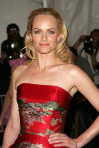 Amber Valletta at the Metropolitan Museum of Art Costume Institute Benefit Gala: Anglomania.