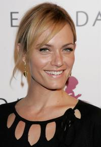 Amber Valletta at the launch of it's 2006 Spring/Summer collection.