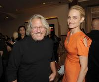 Brian Levant and Amber Valletta at the California premiere of