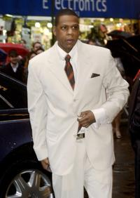Jay-Z at the opening night of