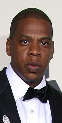 Jay-Z at the 50th Annual Grammy awards.