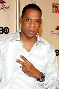 Jay-Z at the premiere of