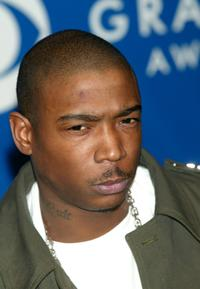 Ja Rule at the 45th Annual Grammy Awards.