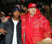 Ja Rule and Fat Joe at the New York Knicks-Player Foundation Holiday Carnival.