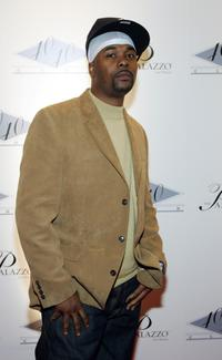 Memphis Bleek at the opening of Jay-Z's USD 20 million 40/40 Club.