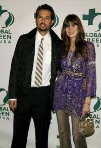 Guy Oseary and Michelle Alves at the Global Green USA 3rd Annual pre-Oscar party.