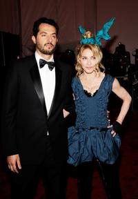 Guy Oseary and Madonna at the