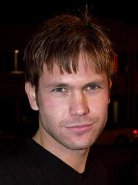 Matthew Davis at the E! Online's