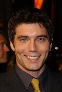 Anson Mount at the premiere of