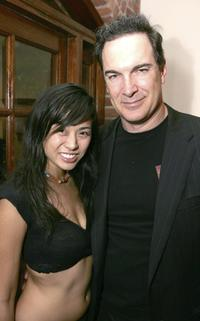 Marie Matiko and Patrick Warburton at the 6th Annual Beverly Hills Film Festival opening night after party.