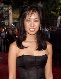 Marie Matiko at the premiere of