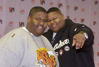 Jerod Mixon and his brother Jamal Mixon at the Vibe Awards: Beats Style Flavor.