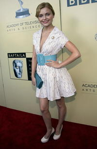 Izabella Miko at the BAFTA/LA-Academy of Television Arts and Sciences Tea Party in Century City, California.
