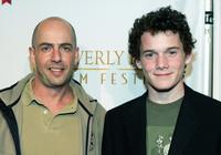 Bob Yari and Anton Yelchin at the 5th Annual International Beverly Hills Film Festival.