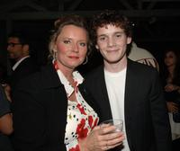 Susan Markowitz and Anton Yelchin at the after party premiere of