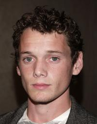 Anton Yelchin at the premiere of
