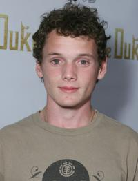 Anton Yelchin at the special screening of