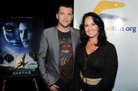 Sam Worthington and Paula Paizes at the screening of