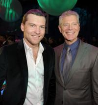Sam Worthington and Steven Lang at the after party of the premiere of