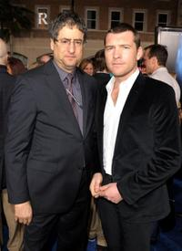 Thomas Rothman and Sam Worthington at the premiere of