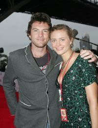 Sam Worthington and guest at the inaugural MTV Australia Video Music Awards.