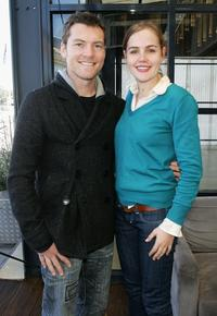 Sam Worthington and Victoria Thaine at the